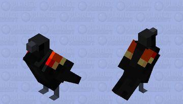 red winged blackbird Minecraft Mob Skin