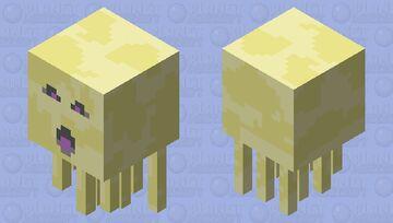 "Endstone Ghast Shooting (For ""Swamp Dimensions"") Minecraft Mob Skin"