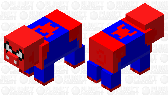 Spider-Ham Minecraft Skin