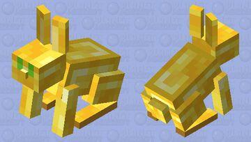 Golden Rabbit Minecraft Mob Skin