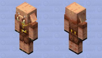 """Piglin raper (dan buul's music """"piglin rap"""") Minecraft Mob Skin"""