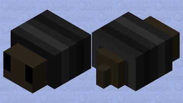 Black Snail Minecraft Mob Skin