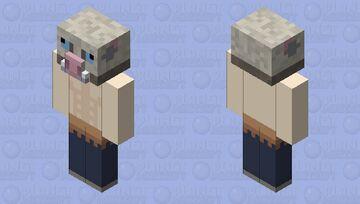 Inosuke Minecraft Mob Skin