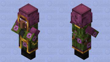 Lush Wandering Trader Minecraft Mob Skin