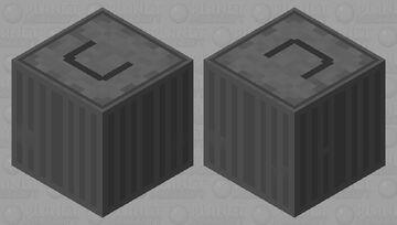 Trash Can shulker (raccoon inside) Minecraft Mob Skin