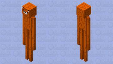 Foxman Minecraft Mob Skin