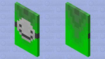 (DreamSMP) Dream/DreamXD Cape Minecraft Mob Skin