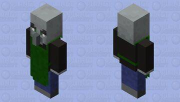 Barista Evoker Minecraft Mob Skin