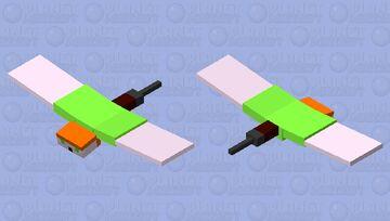 Flying Alex Minecraft Mob Skin