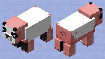 panda pig (still in progres) Minecraft Mob Skin