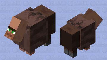 Mountain Villager Minecraft Mob Skin