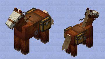 Skull Horse Minecraft Mob Skin