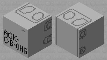 Angry German Kid C-B-OHG MDU box Minecraft Mob Skin