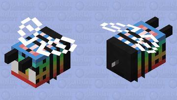 Calm Bee Rain Fade Minecraft Mob Skin