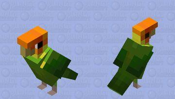 Carolina Parakeet Minecraft Mob Skin