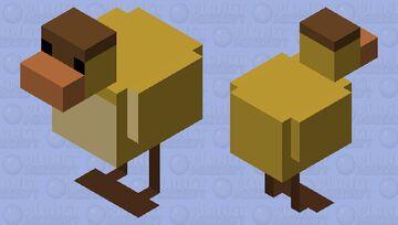 Dawn Duck With Hole Minecraft Mob Skin