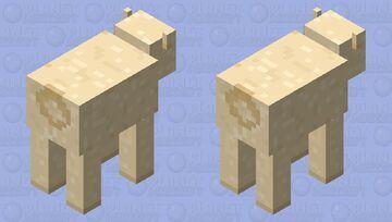 Totally a Llama Minecraft Mob Skin