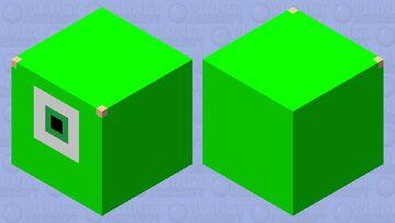 Tsum Tsum - Mike Wazowski Minecraft Mob Skin