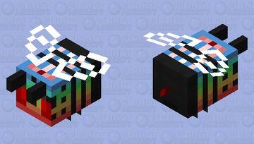 Angry Bee Rain Fade Minecraft Mob Skin