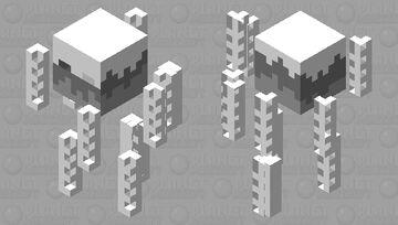 A blazes skeleton Minecraft Mob Skin