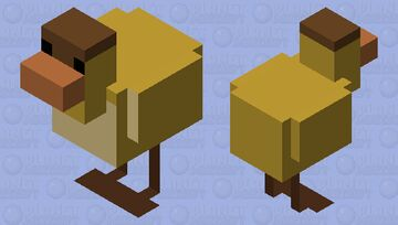 Dawn Duck Without The Hole Minecraft Mob Skin