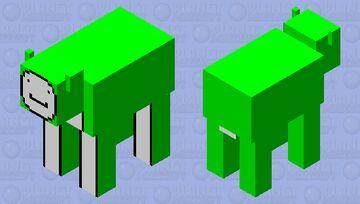 Dream Cow Skin Minecraft Mob Skin