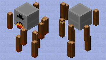 Furnace Blaze Minecraft Mob Skin