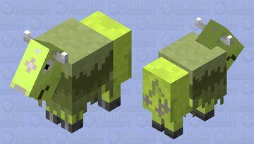 Shiny Tauros Minecraft Mob Skin