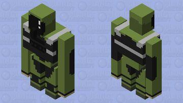 Payday 2 Iron Golem Bulldozer Minecraft Mob Skin