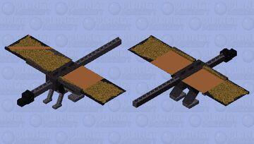 Pterodactyl Ender Dragon Mob Skin Minecraft Mob Skin