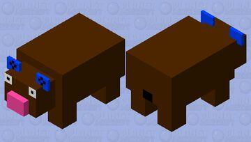 Derpy Panda Minecraft Mob Skin