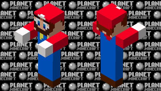 Zombie Mario Minecraft Skin