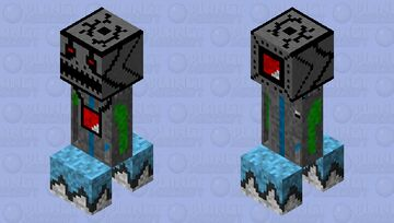 Mechademon soul harvester Minecraft Mob Skin