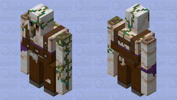 Iron Fisherman Minecraft Mob Skin