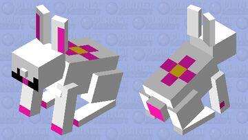 CUTE RABIT Minecraft Mob Skin