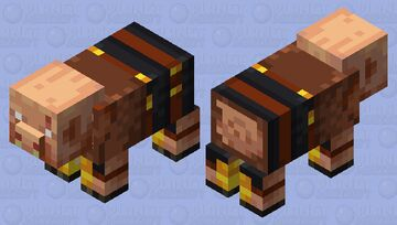 Pig Brute Minecraft Mob Skin