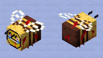 why did they add these? Minecraft Mob Skin