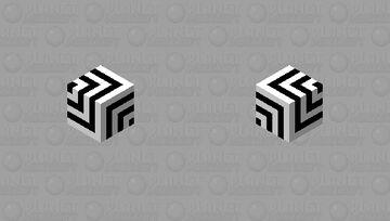illusion cube Minecraft Mob Skin