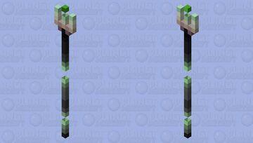Fragmented Staff Minecraft Mob Skin