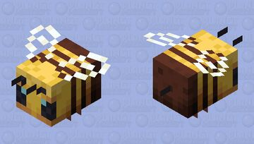 Bee Minecraft Mob Skin
