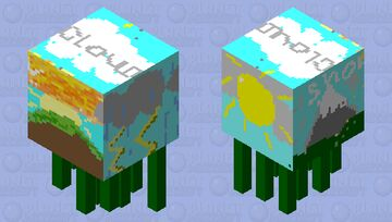 Sunny Or Cloudy We Have it all! Minecraft Mob Skin