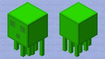 Slime Ghast Minecraft Mob Skin