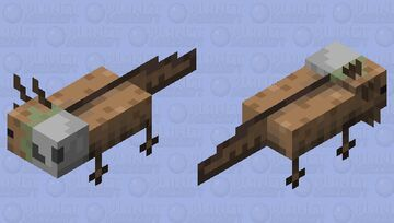I dont have any ideas left Minecraft Mob Skin