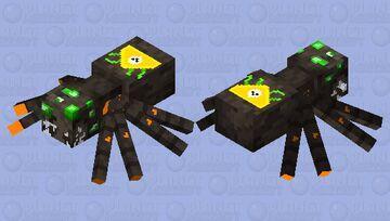 T0X|C SPIDER Minecraft Mob Skin