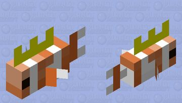 why did I do this... Minecraft Mob Skin