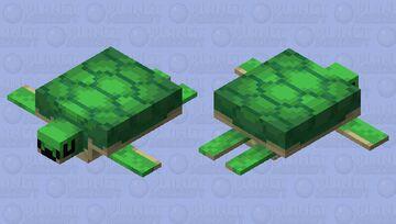 uwu turtle / uwu tortuga Minecraft Mob Skin