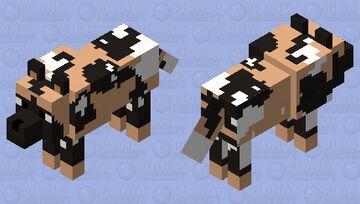 African Wild Dog 2 Minecraft Mob Skin