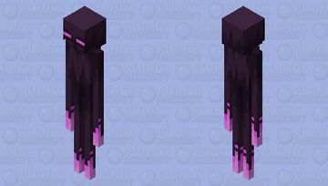 The Enderman (Remade) Minecraft Mob Skin