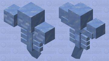 Frozen Wither Minecraft Mob Skin