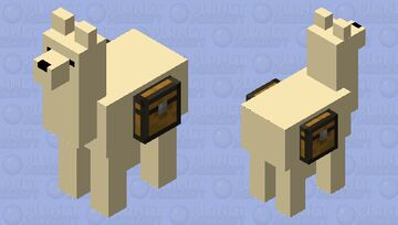 Simplified Llama Minecraft Mob Skin